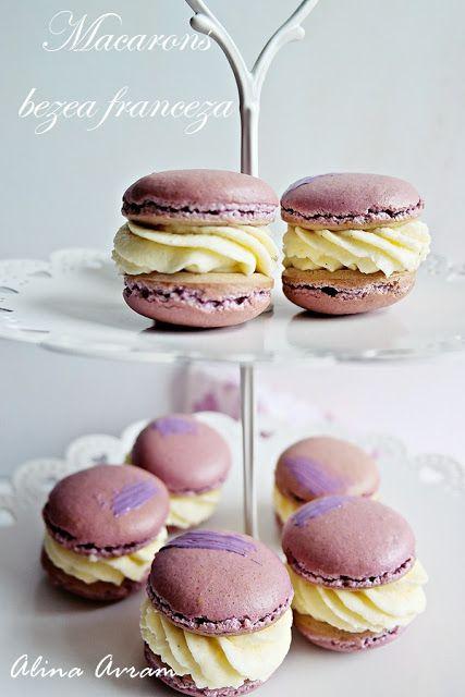 Macarons (bezea franceză) | Alina Avram's Blog