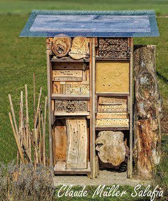 Nisthilfen Insektennisthilfen Insektenhotel