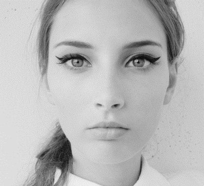 The Easiest Fool-Proof Cat-Eye Tutorial, Ever. So trying this. @ The Beauty ThesisThe Beauty Thesis