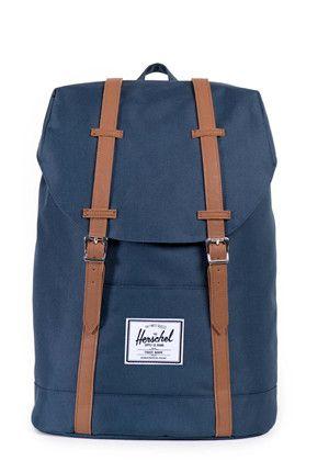 Retreat Backpack Navy / Tan