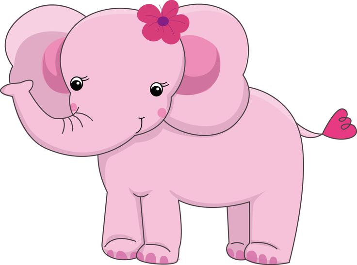 Pretty Pink Girly Jungle Animals - Pretty Pink Girly Jungle Animals_02.png - Minus