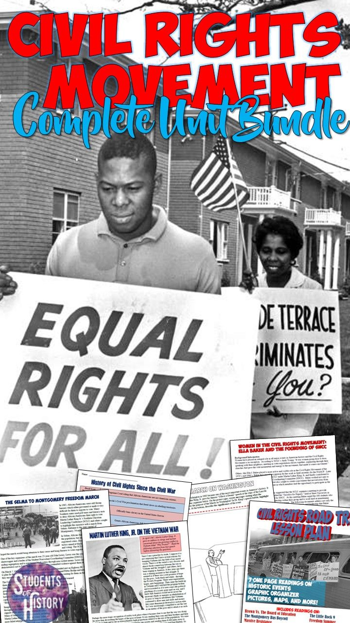 an introduction to the history of the civil rights movement A watershed event in the civil rights movement, the greensboro sit-in led to similar protests across the south  treasures of american history: introduction .