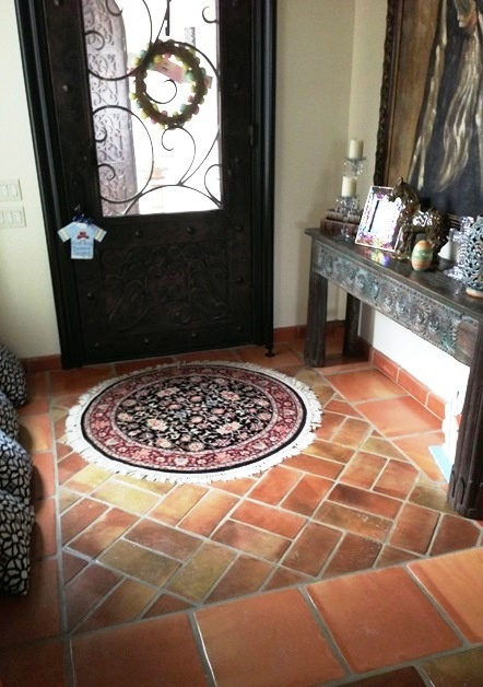 17 best images about mexican tile on pinterest for Spanish style floor tiles