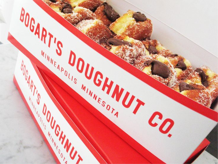 Bogart's Doughnut Co. Art Direction and Design: Jeff Holmberg, Holmberg Design Co.