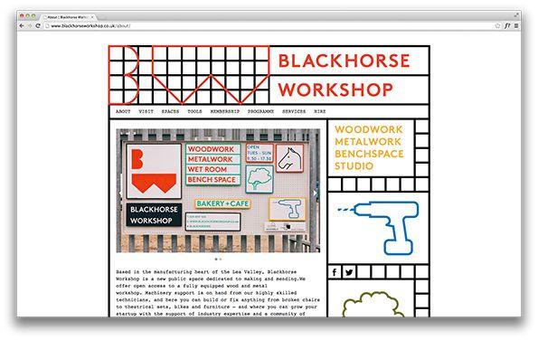 Blackhorse Workshop Website
