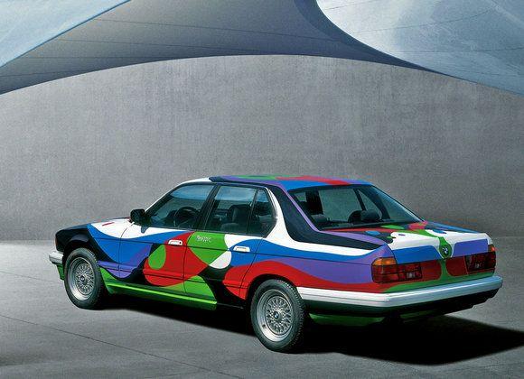 BMW Art Car by A.R. Penck repinned by www.gorara.com
