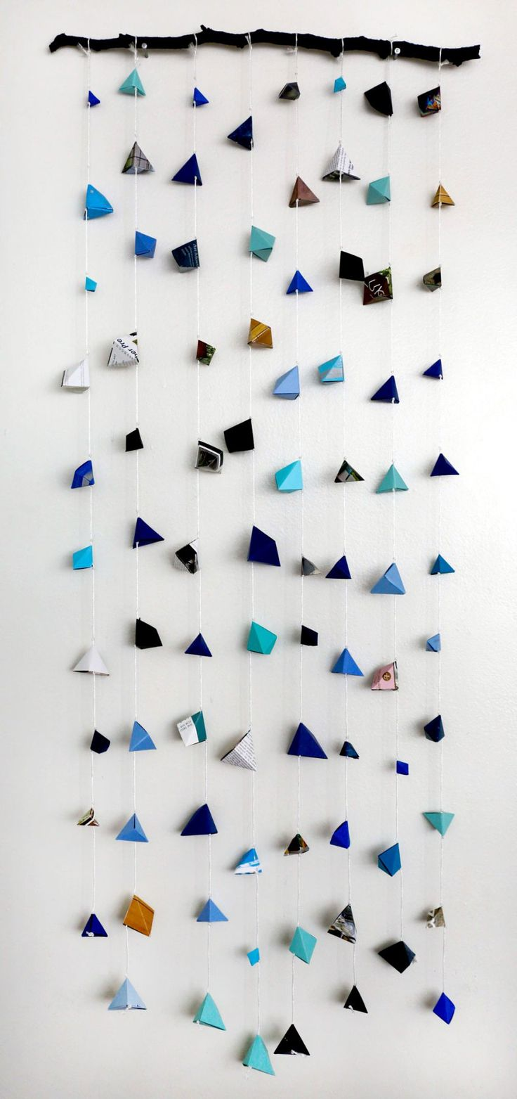 Geometric Origami DIY on Crafted in Carhartt (you can do this craft for free!)