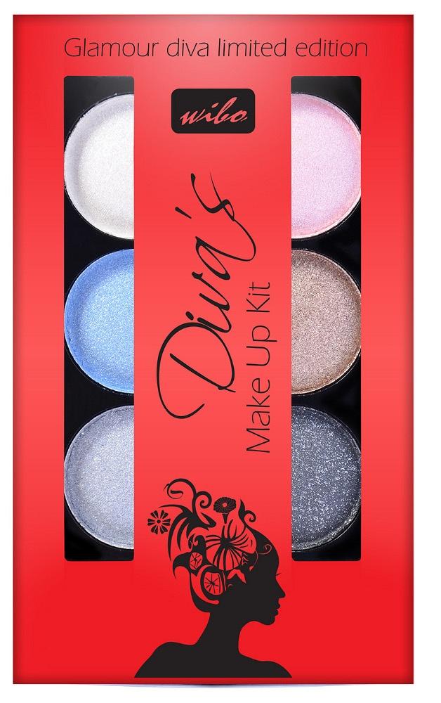 Najważniejszym etapem przygotowania makijażu są oczy, to one mają sprawić, że spojrzeniem zelektryzujemy publikę na wieczornym wyjściu. Diva's Make Up Kit to zestaw sześciu metalicznych cieni do powiek w klasycznych kolorach. Kasetka zawiera oryginalny zestaw kolorów, które pozwalają stworzyć niezwykłe kombinacje kolorystyczne, dzięki którym stworzysz każdego wieczoru inny makijaż!