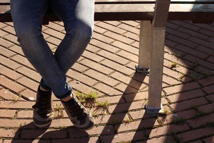 Scelgo scarpe vegan per ogni momento della mia giornata, anche per lo sport! Lizard shoes.