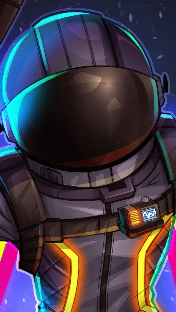 Fortnite Dark Voyager Helmet Game 720x1280 Wallpaper Video
