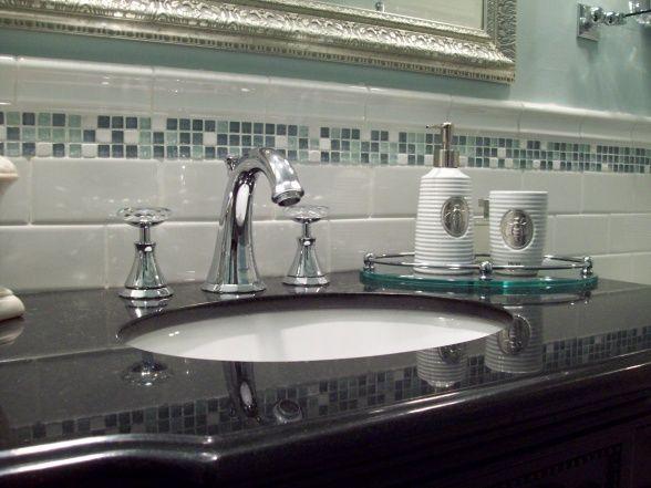 Spa Blue Bathroom Makeover On A Budget