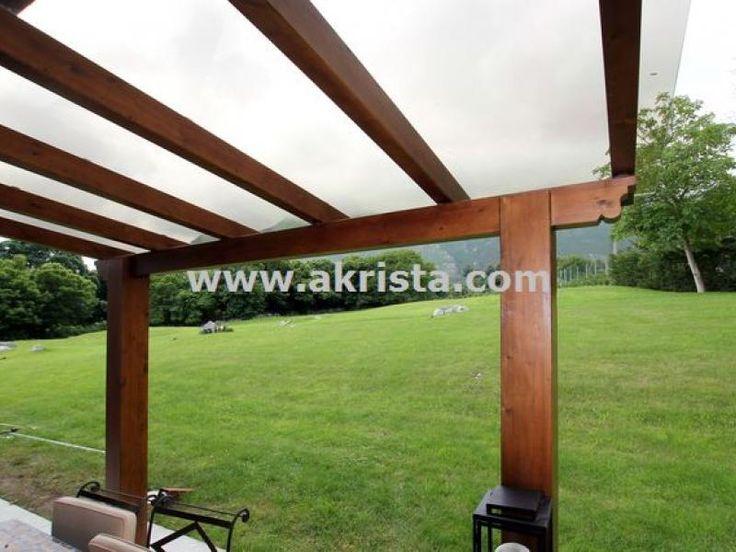 Meer dan 1000 idee n over porches de madera op pinterest - Cerramiento de madera ...