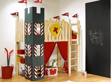 die besten 25 burg bett ideen auf pinterest prinzessin betten rosa prinzessinenzimmer und. Black Bedroom Furniture Sets. Home Design Ideas
