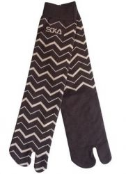 Kaos kaki soka essential corak tribal warna coklat tua. Harga Rp. 18.900 / pcs. BBM 7D21F5CE SMS/WA/TLP 085736030048