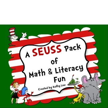 Games are a great way to practice skills! These Seuss themed games can be used for literacy/math centers or stations, partner games, or small g...