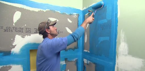 Watch this video to see how to apply cement backerboard and waterproof the walls of a bathtub or shower surround before applying tile.