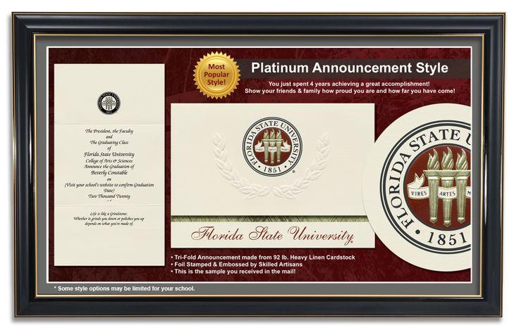 Platinum Announcement Style
