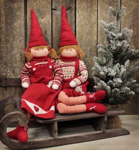 Joulutonttuja somistamaan kotiasi. #joulutonttu