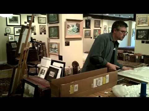 How to Pack an Oil Painting - YouTube