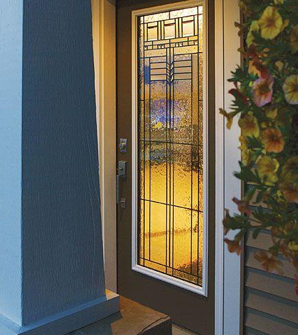 Decorative Glass Insert Available Through Designer Glass Of WNY.  Www.designerglasswny.com
