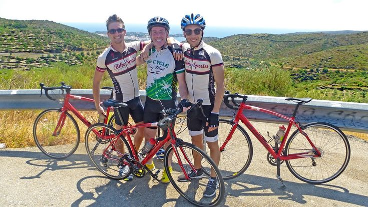 Riding a bike with good company! Catalonia Cycling
