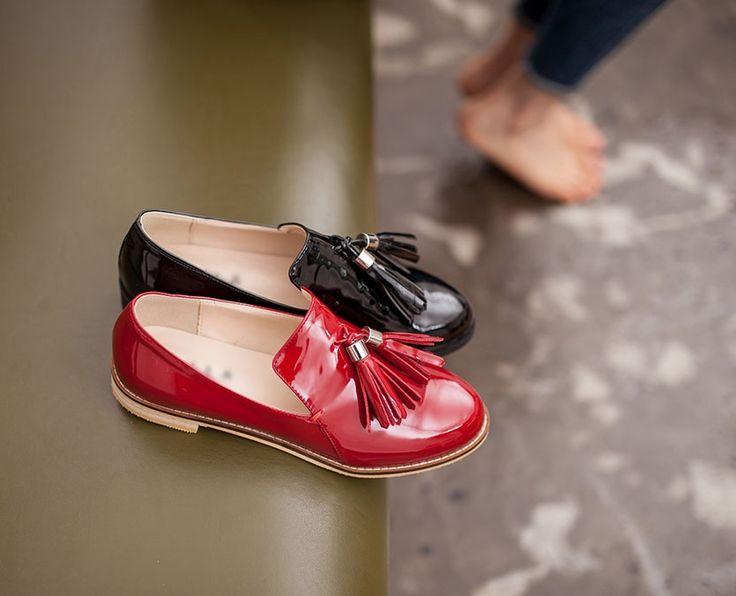 Lovely Color  Tassel Loafer from shoemakker.com