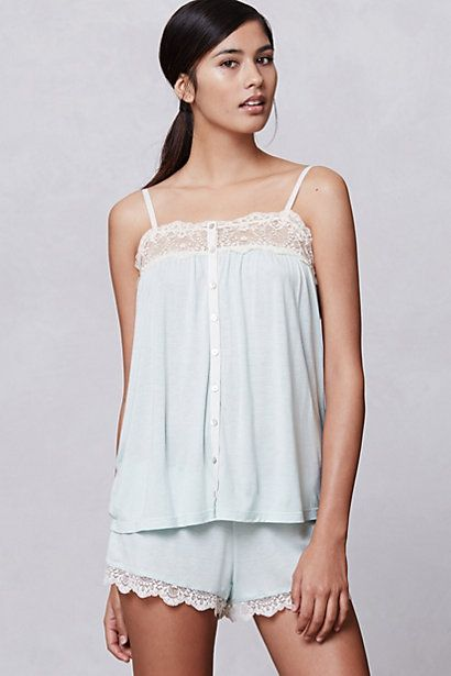 Peppermint Lace Camisole - Anthropologie.com
