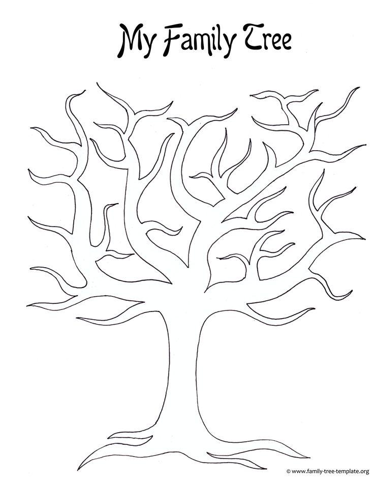 Best 25+ Blank family tree template ideas on Pinterest