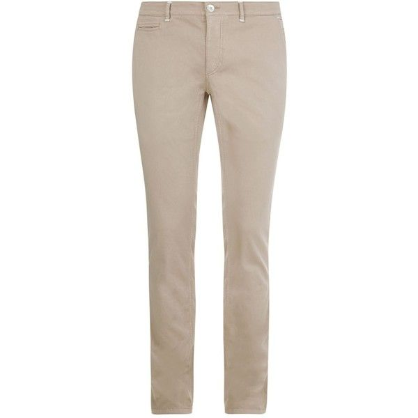 Zilli Slim Alligator Badge Chinos ($1,515) ❤ liked on Polyvore featuring men's fashion, men's clothing, men's pants, men's casual pants, mens chino pants, mens chinos pants, mens slim fit pants, men's 5 pocket pants and mens slim fit chino pants