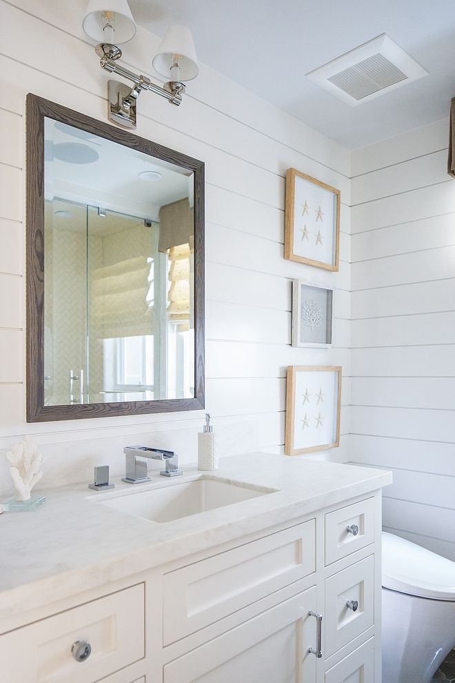 California Beach House With Beautiful Coastal Interiors Shiplap Bathroom Bathrooms Remodel Coastal Interiors Bath trends bathroom blogfest post