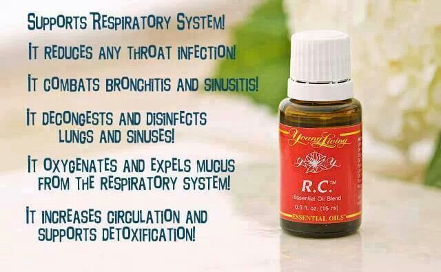 Uses for RC essential oil. Find out more at www.youngliving.org --