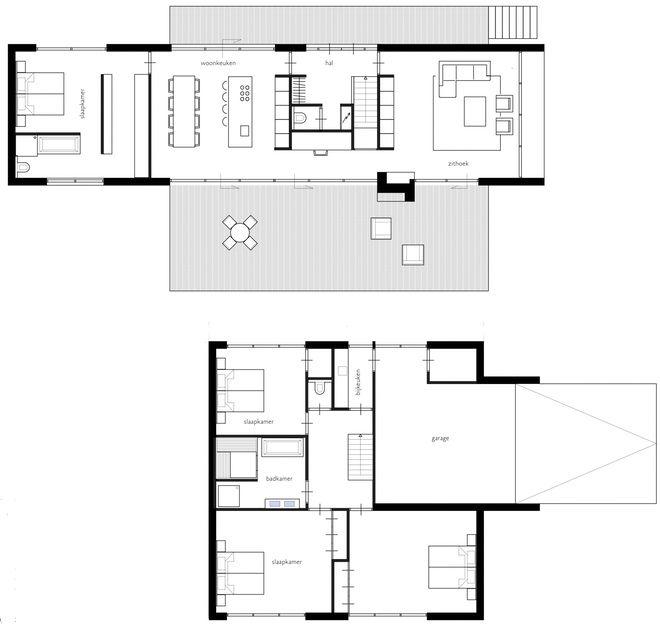 Gezinswoning met half verdiept souterrain Dingemans Architectuur | horeca…