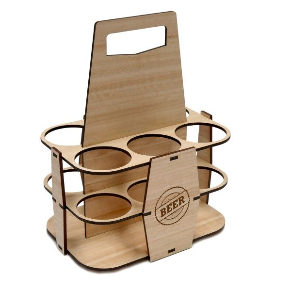 Six Pack Beer Carrier (Two Designs)
