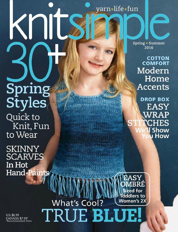 Knit Simple Spring/Summer 2016 - 轻描淡写 - 轻描淡写