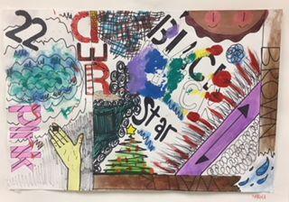 Jasper Johns Art Lesson - Middle School