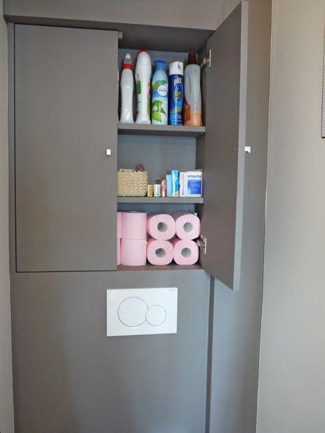 Avant/après toilettes déco avec WC suspendu | Etcaetera