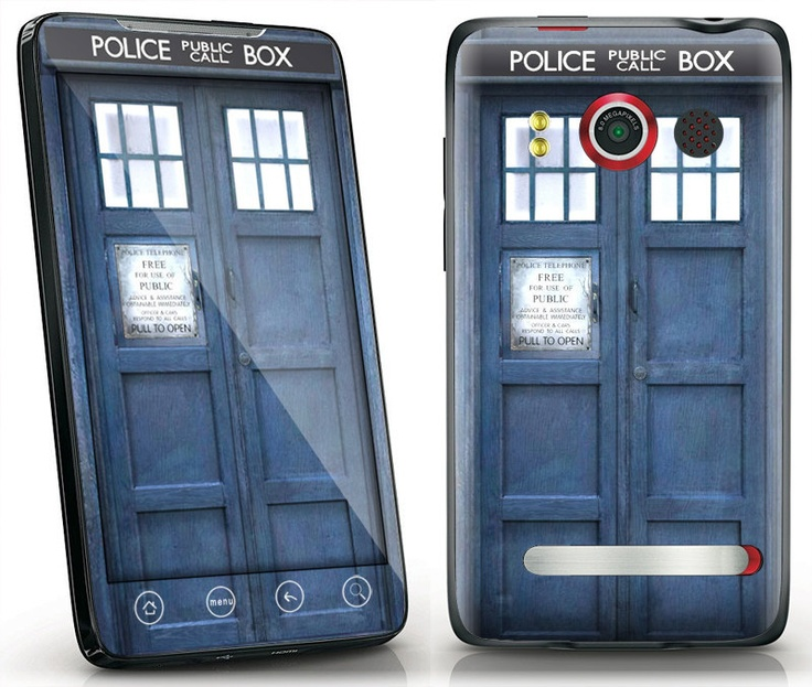 HTC Evo 4G Decal Skin Cover  Doctor Who Tardis by skunkwraps, $9.95