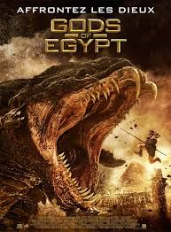"""G for """"Gods of Egypt"""" - Alex Proyas (2016) - Poster"""