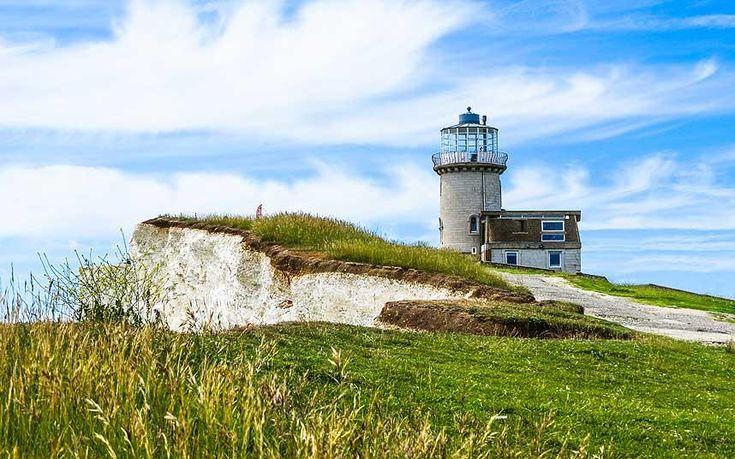 UK coastal walks: Belle Tout lighthouse, Birling Gap, East Sussex