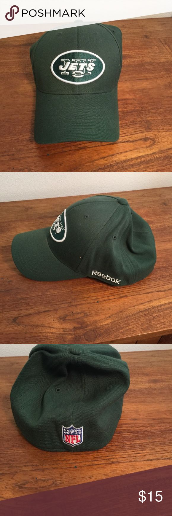💥 NEW New York Jets hat. L/XL💥 Fantastic New York Jets hat. Reebok NFL on field hat. Great condition. Reebok Other