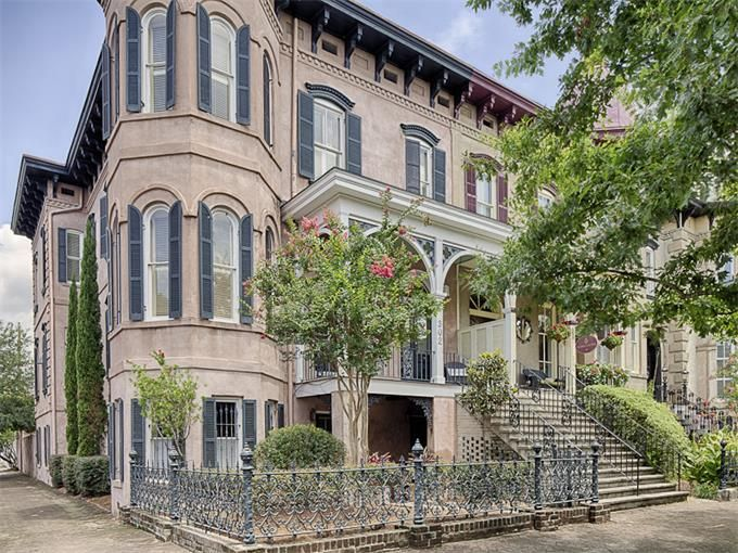 47 best images about historic properties on pinterest for Historic houses in savannah ga