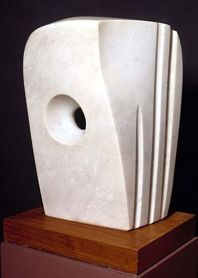 Dame Barbara Hepworth DBE (10 January 1903 – 20 May 1975) was an English sculptor. Her work exemplifies Modernism, and with such contemporaries as Ivon Hitchens, Henry Moore, Ben Nicholson, Naum Gabo she helped to develop modern art (sculpture in particular) in Britain.