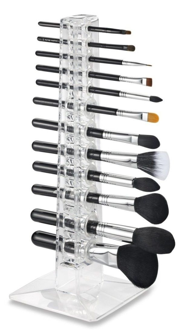 An organizer for people who have a *LOT* of makeup brushes.