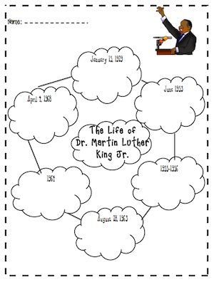 Here is a great freebie from Kris at I {Heart} Teaching for Dr. Martin Luther King Jr. Day!  Thanks Kris!  http://www.theorganizedclassroomblog.com/index.php/ocb-store/view_document/108-mlk-activities