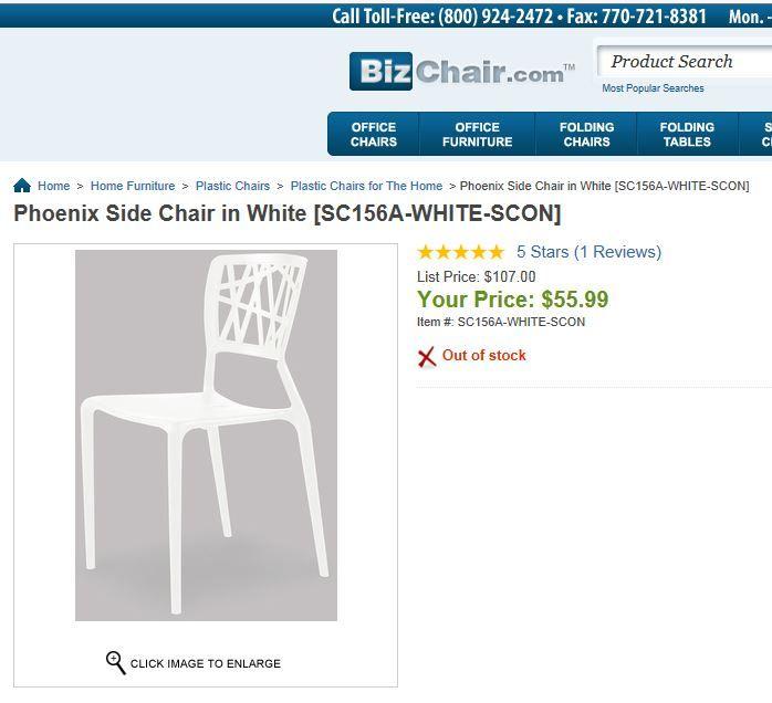 Phoenix Side Chair   BizChair.com Website