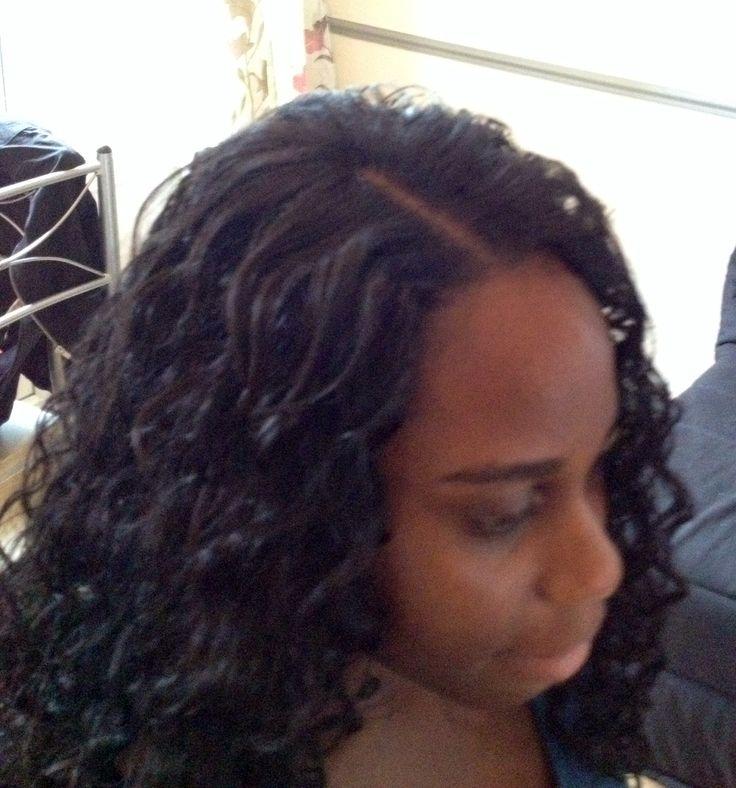 Les 25 meilleures id es de la cat gorie crochet braids vanille sur pinterest styles kinky - Tresse pour crochet braids ...