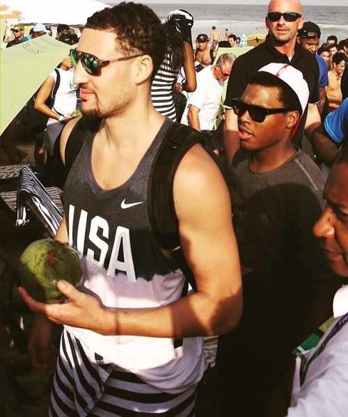 fyeahklaythompson:Beachin In Rio