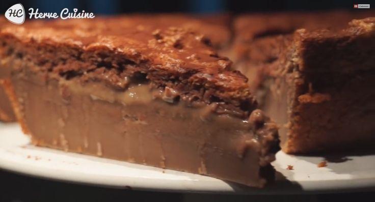 lastuce recette qui va vous faire saliver le gateau magique nutella chocolat coco envie de gourmandises pinterest nutella