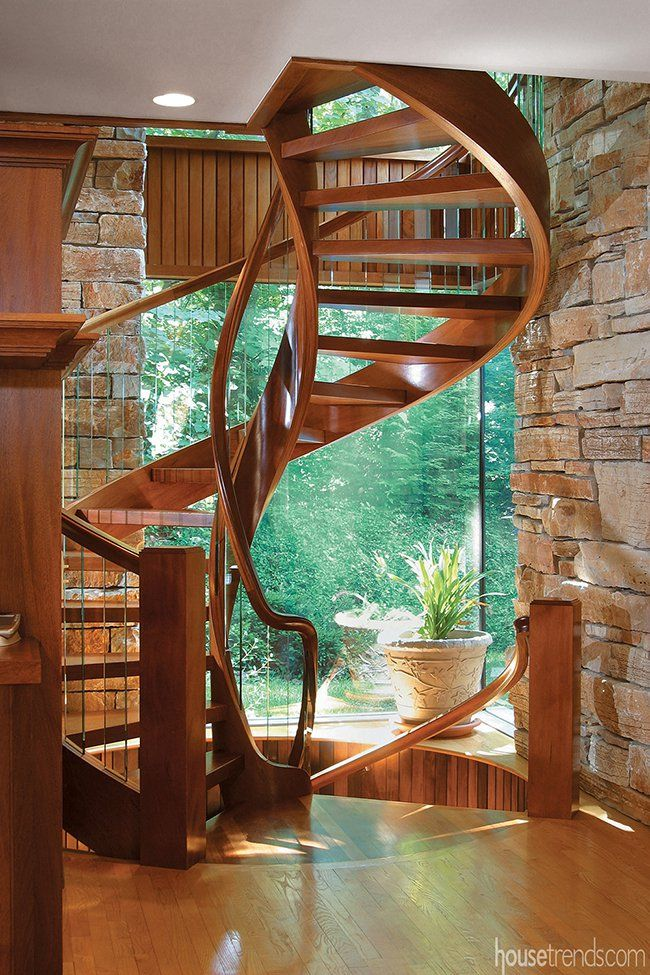Best Start Stairing Staircases Worth A Good Long Look House Staircase Spiral Stairs Design 400 x 300