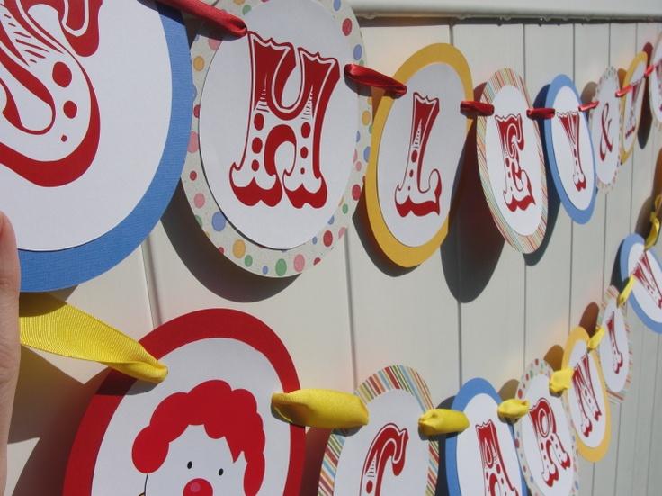 Carnival font bannerCarnivals Birthday, Carnivals Fonts, Bday, Carnivals Banners, Circus Carnivals Parties, Circular Banners, Chocolates Birthday, Backyards Carnivals, Birthday Ideas